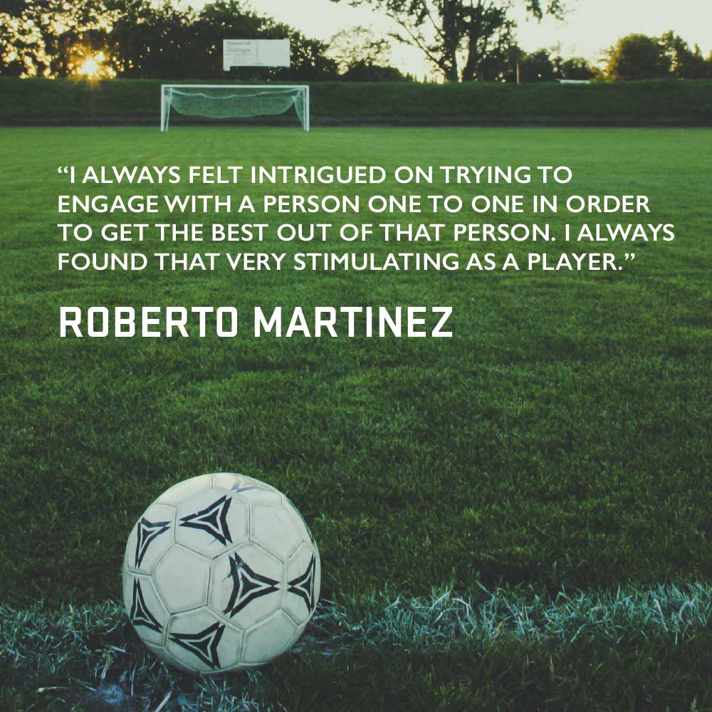 Cognite - Book - Tom Young - The Making of a Leader - Roberto Martinez